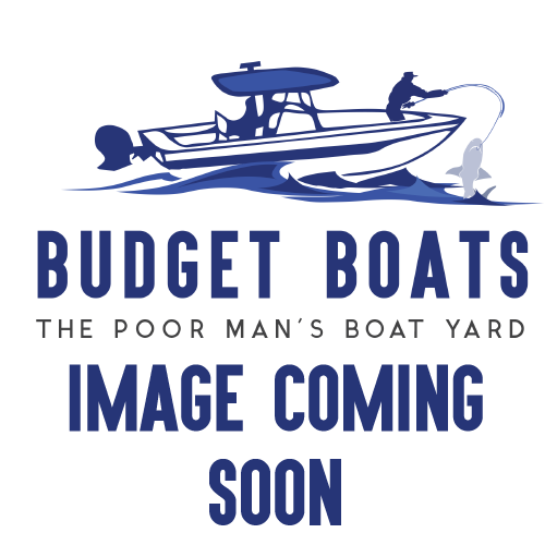 1985 Tidecraft 15'-3 Bass Boat - Hull & Trailer (5013)